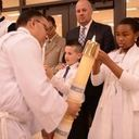 Saint Faustina's First Communion and Baptism Easter 2017 photo album thumbnail 14