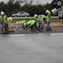 Parking Lot Concrete Pour - 3-16-16 photo album thumbnail 21